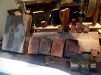Old leather books! I was so into it I forgot to focus...